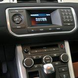 Range Rover Evoque detalle consola central