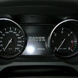 Range Rover Evoque detalle de relojes indicadores
