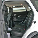 Range Rover Evoque detalle plazas traseras
