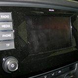 Skoda Octavia detalle pantalla