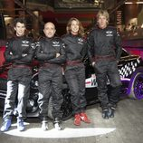 Pose de los pilotos Mini John Cooper Works