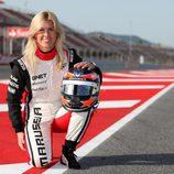 María de Villota, test driver de Marussia F1 Team