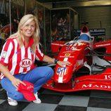 María de Villota fue del Atleti en la Superleague Fórmula