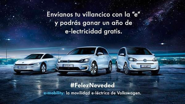 Concurso navideño de Volkswagen