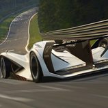 Mazda LM55 Vision Gran Turismo - track back