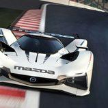 Mazda LM55 Vision Gran Turismo - track frontal