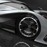 Mazda LM55 Vision Gran Turismo - detalle rueda