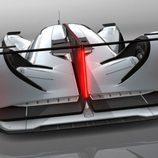 Mazda LM55 Vision Gran Turismo - trasera