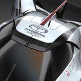 Mazda LM55 Vision Gran Turismo - detalle aéreo