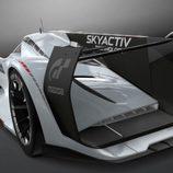 Mazda LM55 Vision Gran Turismo - detalle alerón
