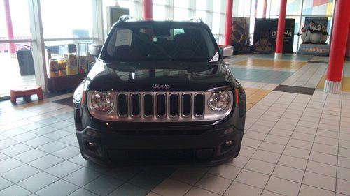 Jeep Renagade 4x2 Longitude - frontal