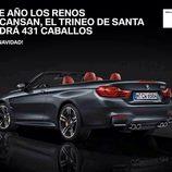 BMW 431 cabalos santa Claus