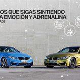BMW M3 y M4 felicitación