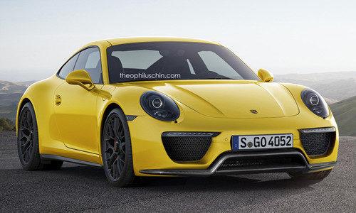 Porsche 911 restyling