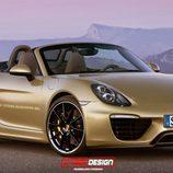 Porsche Boxster 2017 render