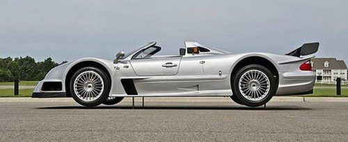 Mercedes-Benz AMG CLK GTR Roadster - side