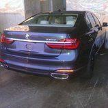 BMW 730d 2016 - trasera