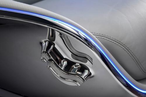 Mercedes Benz autonomous driving concept - asiento