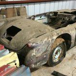 Corvette 1954 Salt flat racer - trasera