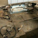 Corvette 1954 Salt flat racer - interior
