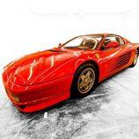 Ferrari Testarossa - Silueta