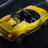 Alfa Romeo 4C Spider filtración - superior