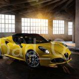 Alfa Romeo 4C Spider filtración