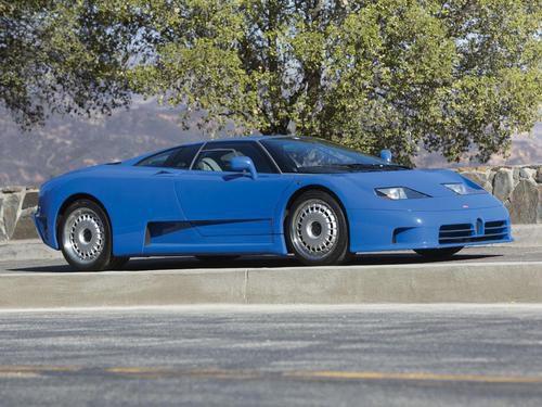 Bugatti EB110 GT - tres cuartos delantero