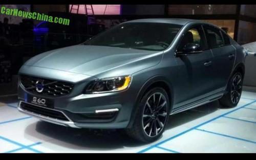 Volvo S60 Cross Country - stand