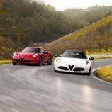Alfa Romeo 4C Spider - curva