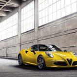 Alfa Romeo 4C Spider - tres cuartos delantero