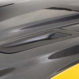 Shelby Mustang GT - detalle capó