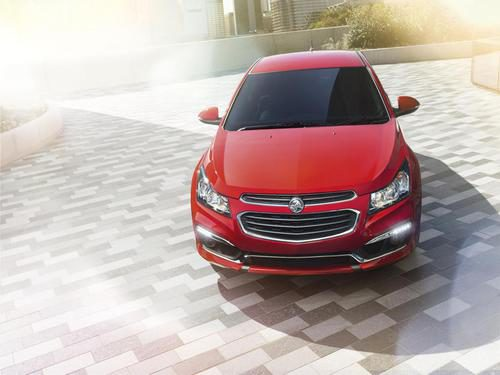 Holden Cruze restyling