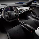 Ford GT concept Detroit 2015 - salpicadero