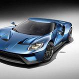 Ford GT concept Detroit 2015 - delantera