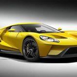 Ford GT concept Detroit 2015 - amarillo