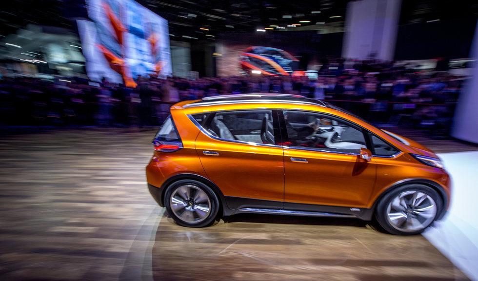 Chevrolet Bolt EV Concept - Detroit