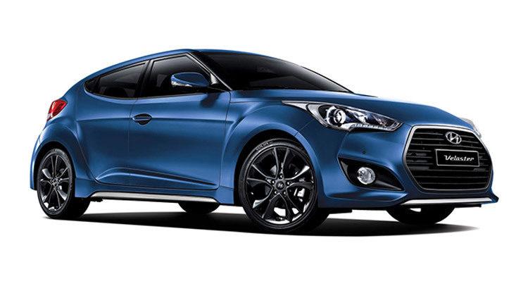 Hyundai Veloster 2015 - azul
