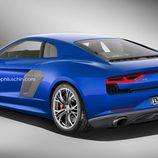 Render Audi R8 2015 - trasera