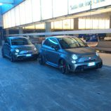Fiat Abarth 695 Biposto - pareja
