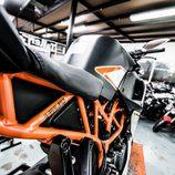 KTM RC390 - chasis