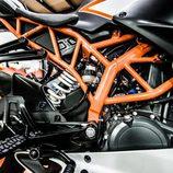 KTM RC390 - chasis tubular