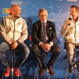 Gabriele Tarquini, Alessandro Mariani and Tiago Monteiro