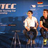 John Filippi y Hugo Valente, pilotos de Campos Racing