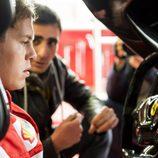 Sebastian Vettel a los mandos del FXX K