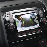 vista de la cámara trasera del Fiat Ducato 140 Natural Power