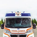 Fiat Ducato 140 Natural Power ambulancia vista frontal