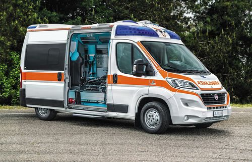Fiat Ducato 140 Natural Power ambulancia