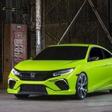Honda Civic Concept NY 2015 - front