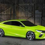 Honda Civic Concept NY 2015 - lateral